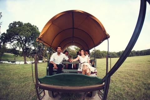 Tractor Wagon Ride at Enchanted Springs Ranch