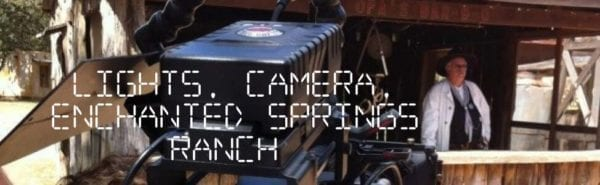 Filming at Enchanted Springs Ranch