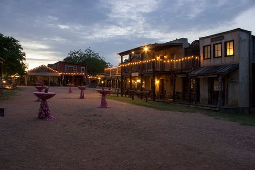 Enchanted Springs Ranch at night