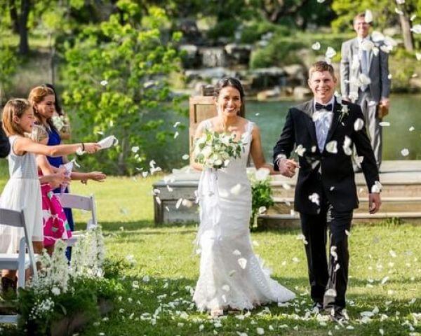 Lakefront Wedding at Enchanted Springs Ranch