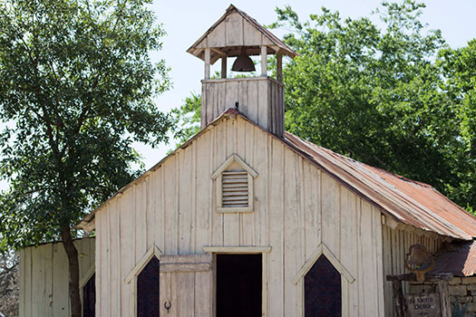Old West Chapel at Enchanted Springs Ranch