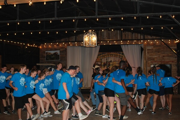 Line Dancing at the Ranch