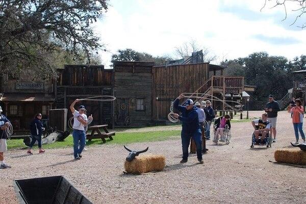 Texas Calf Roping at Enchanted Springs Ranch