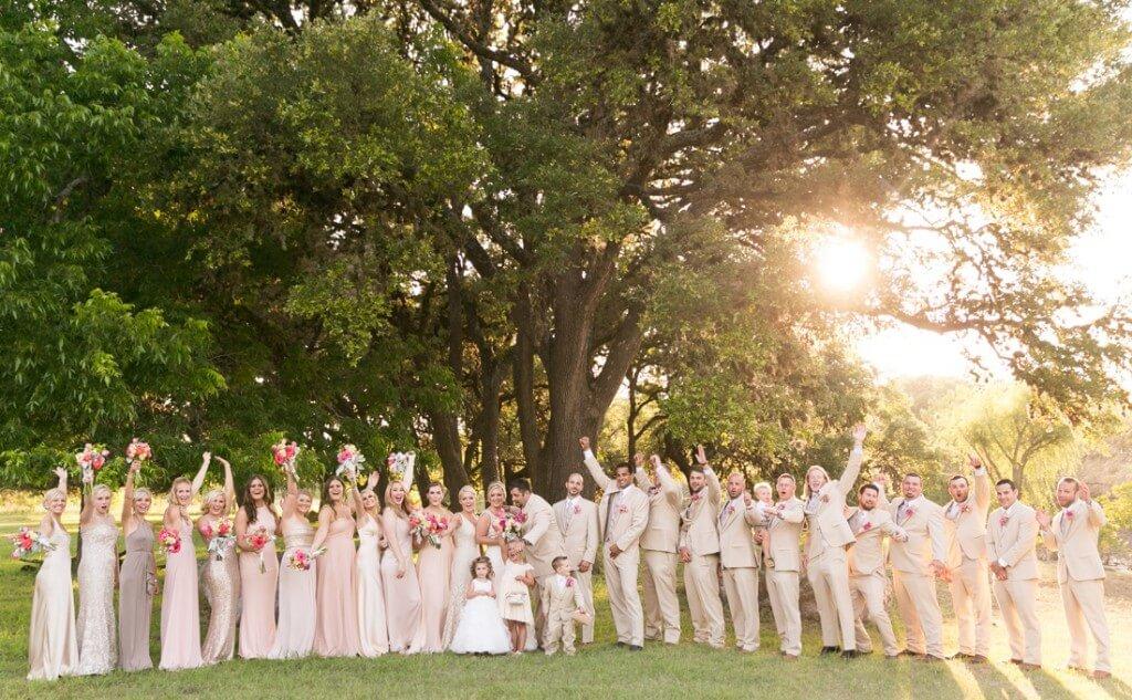 Enchanted Springs Ranch Outdoor Wedding