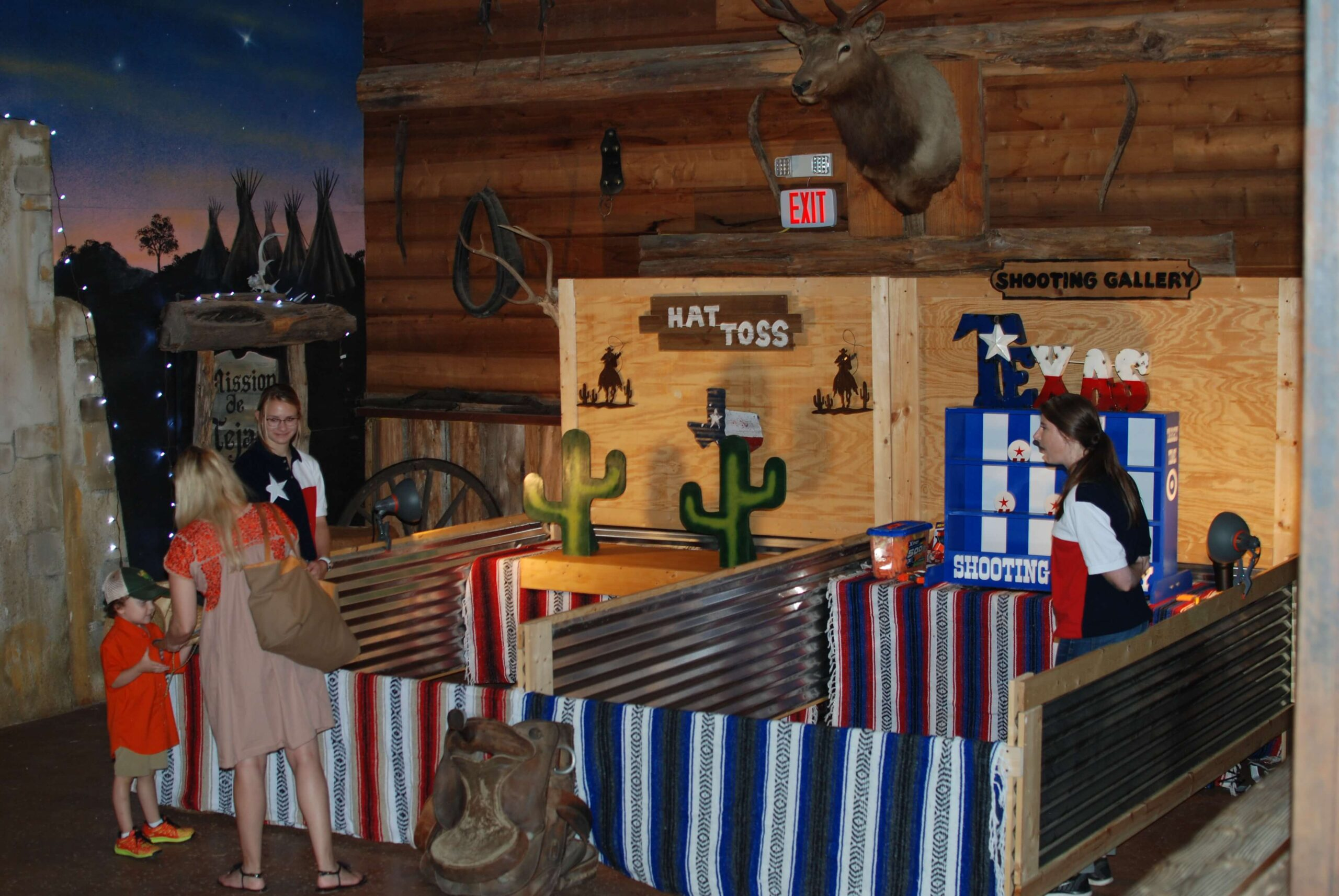 Company Picnics at Enchanted Springs Ranch- Hat Toss & Shooting Gallery