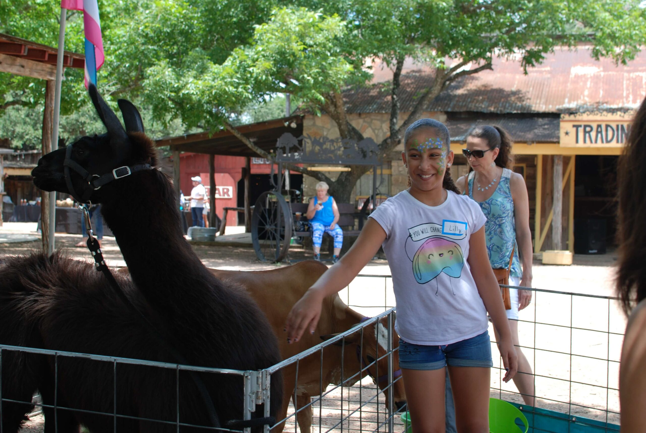 Company Picnics at Enchanted Springs Ranch-Petting Zoo