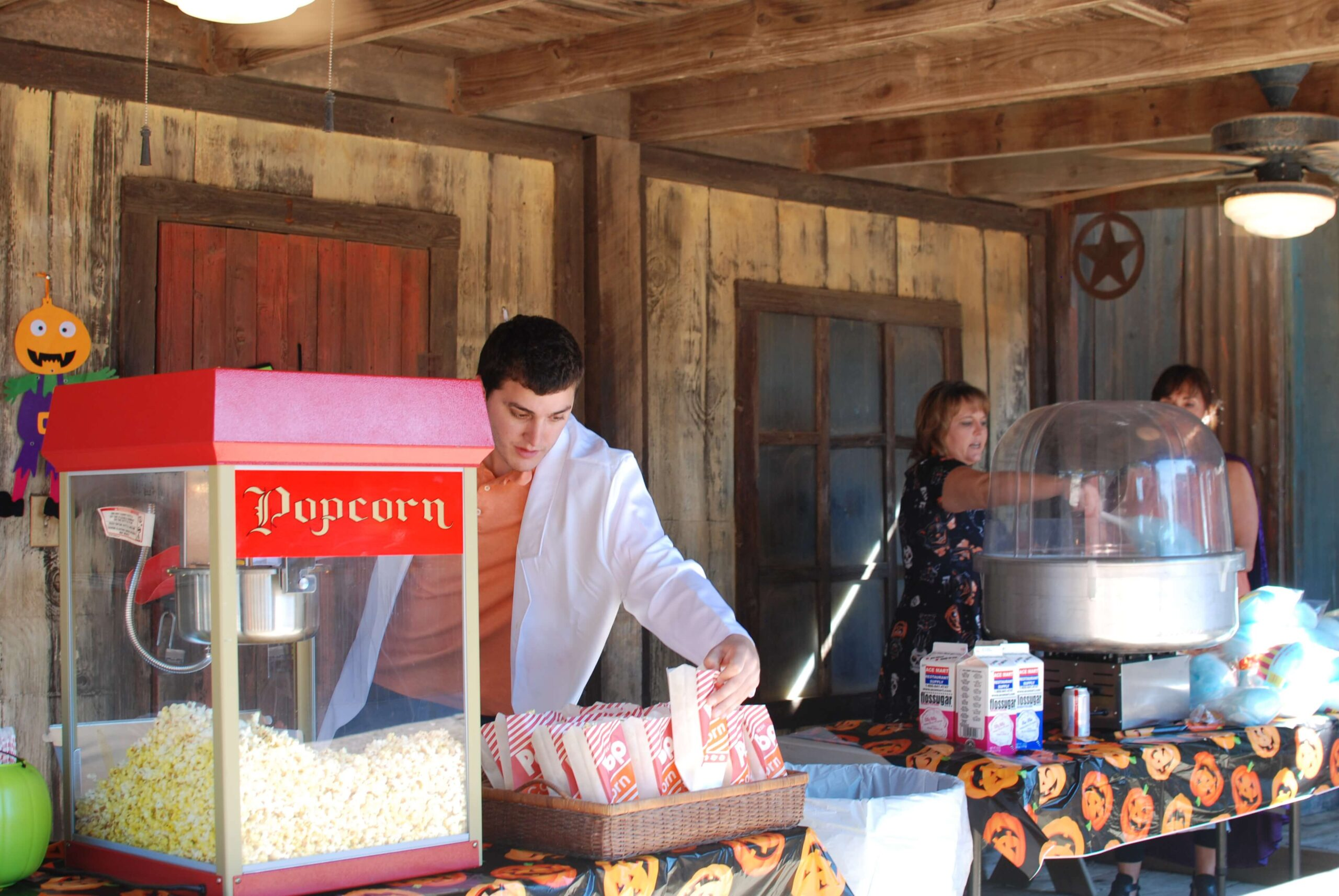 Company Picnics at Enchanted Springs Ranch- Unlimited popcorn and cotton candy