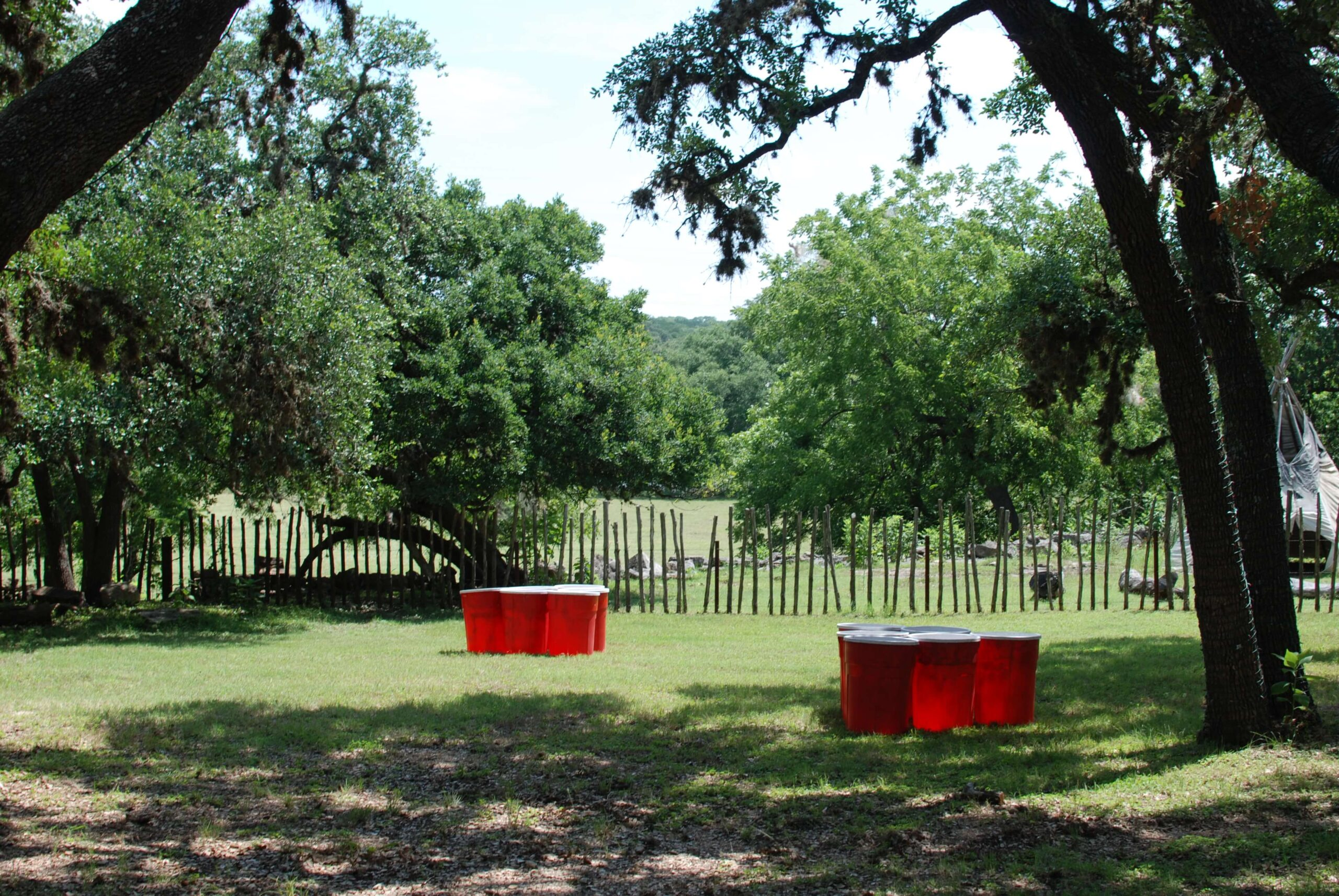 Company Picnics at Enchanted Springs Ranch- Giant Drink Pong