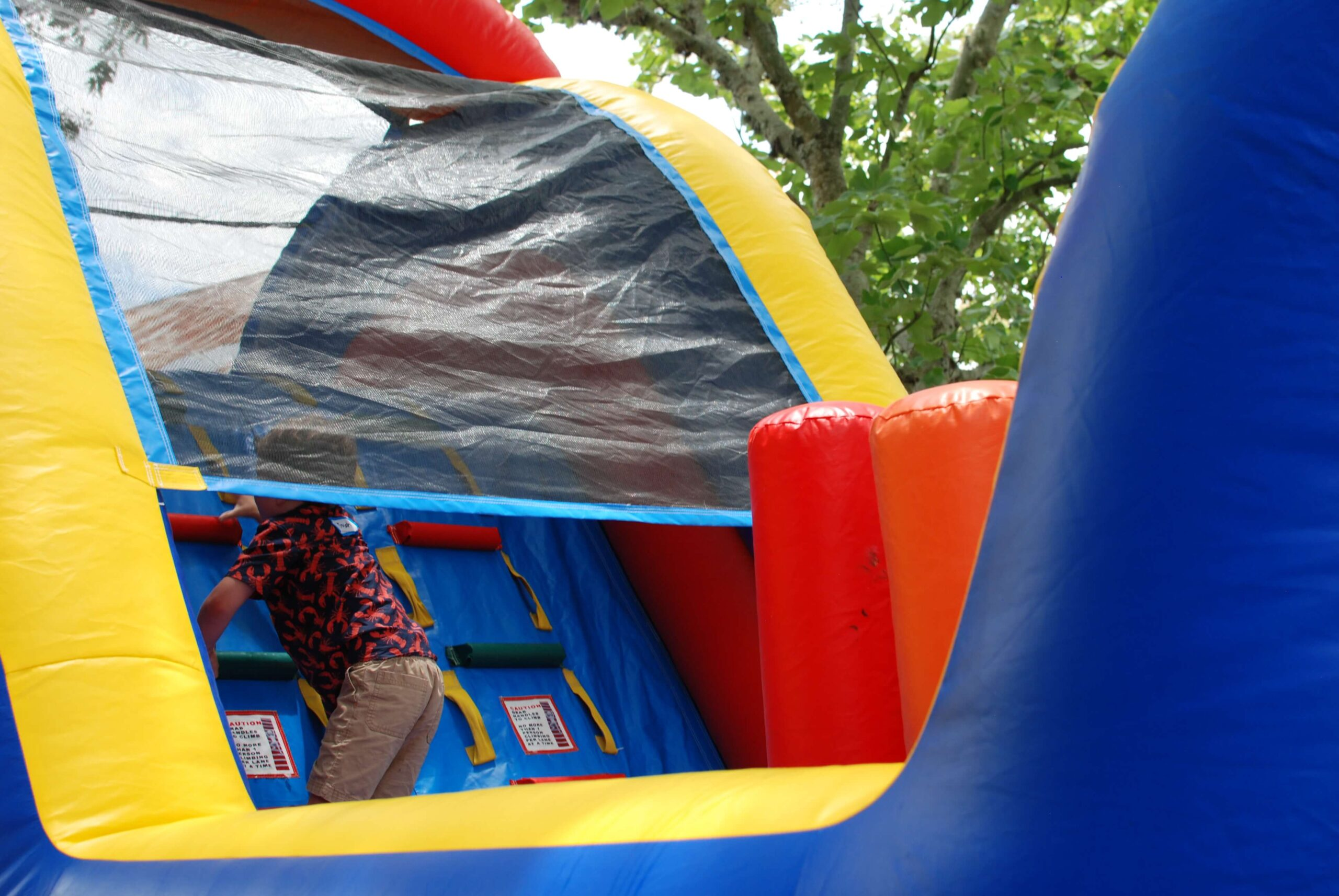 Company Picnics at Enchanted Springs Ranch- Bounce Houses