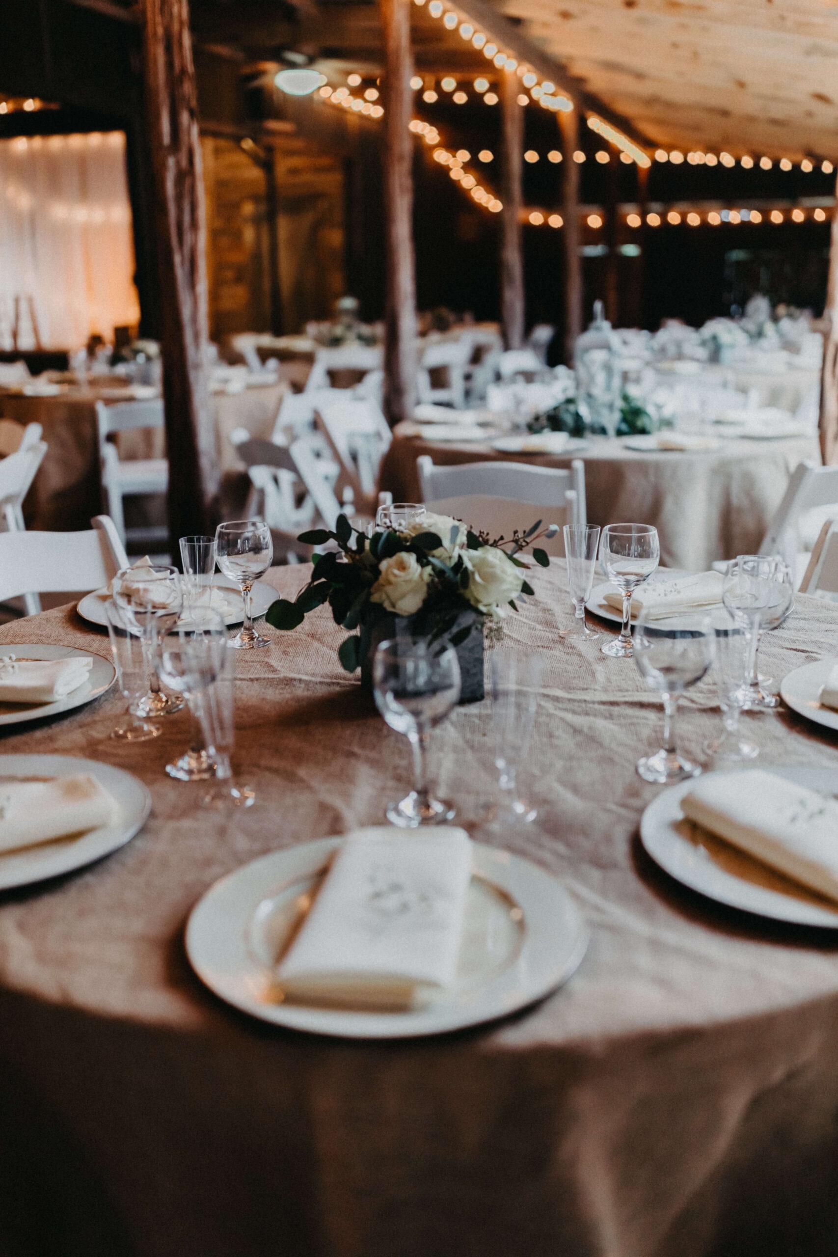Wedding Set Up at Enchanted Springs Ranch