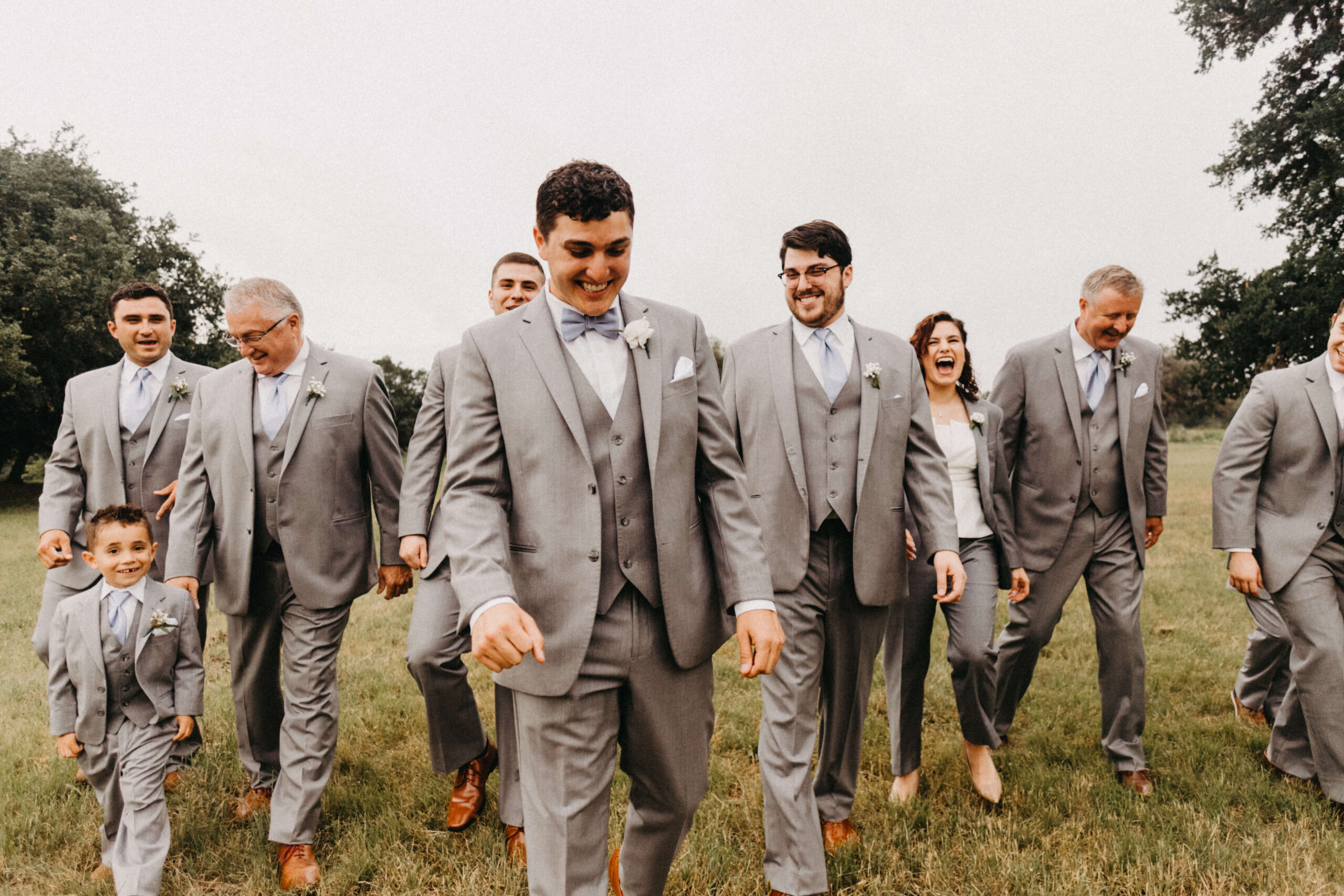 Adams Family's youngest son on his wedding day at Enchanted Springs Ranch