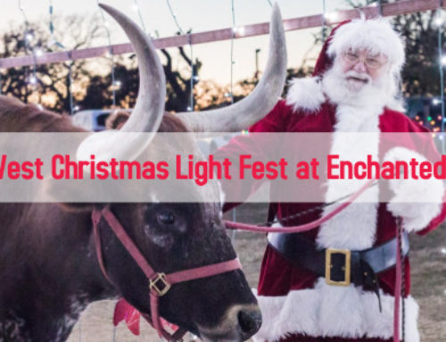 Holiday Magic at Old West Christmas Light Fest!