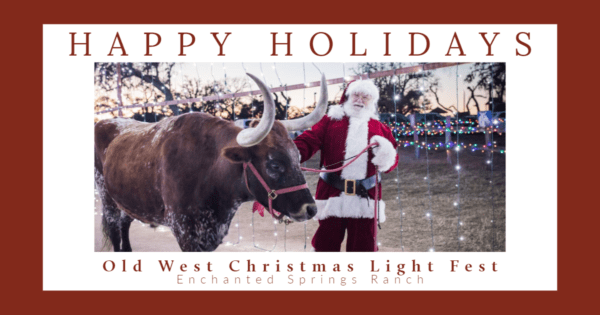 Old West Christmas Light Fest