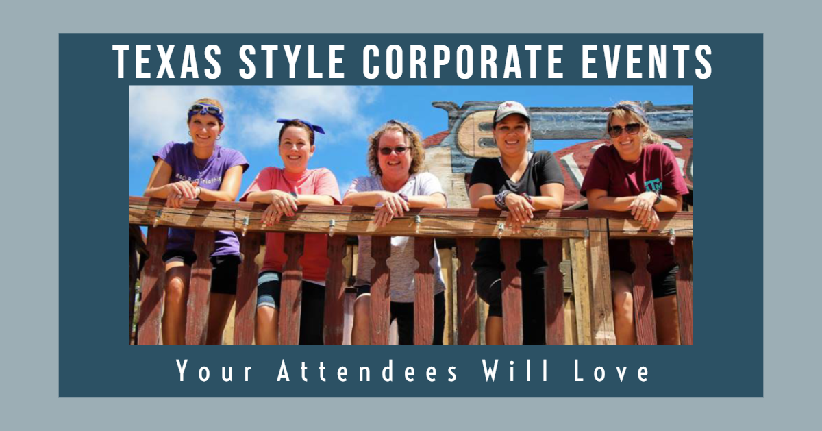 Texas Style Corporate Events at Enchanted Springs Ranch
