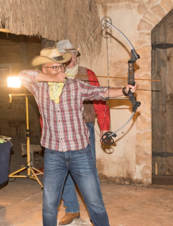 Enchanted Springs Ranch is the perfect location for a corporate event, private event or a team building retreat. Test your skills with Archery!