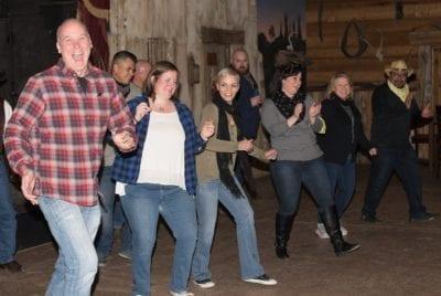 Line Dancing at Enchanted Springs Ranch
