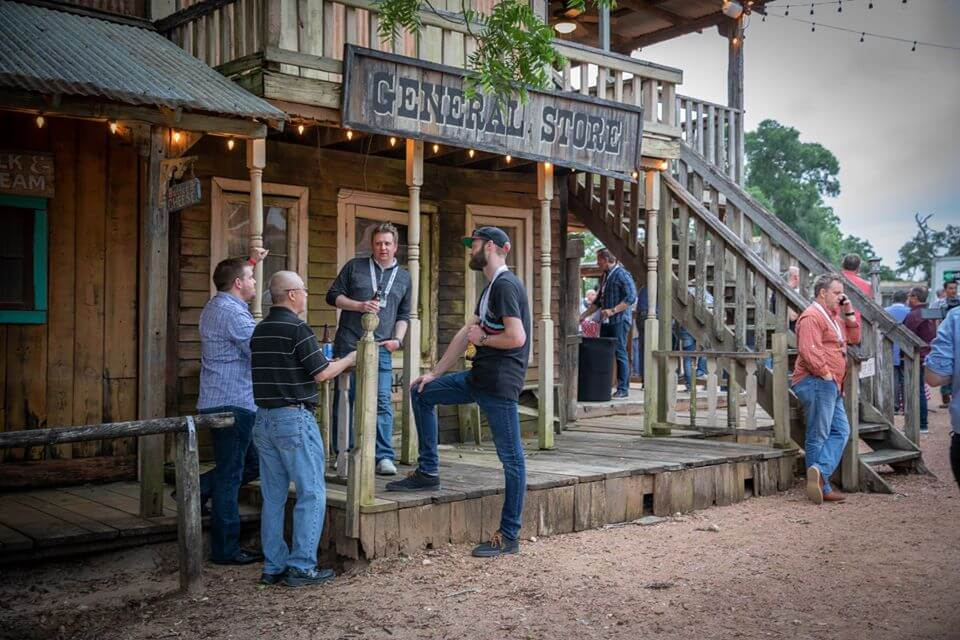 Host your next corporate event in an old west town