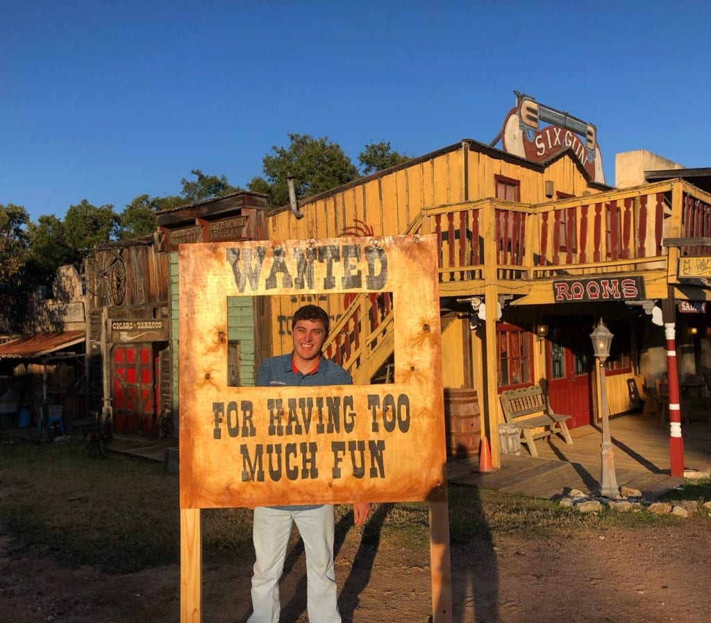 Wanted for having too much fun at Enchanted Springs Ranch Private Event Venue